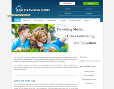 Women's Shelter Website Design