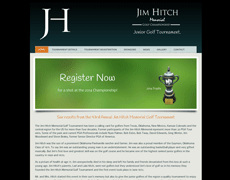 Golf Tournament Website Design