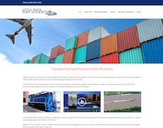 Port Authority Website Design