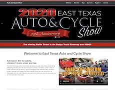 Automobile Website Design