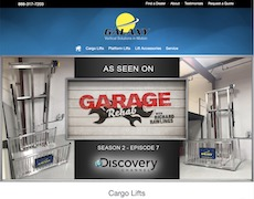 Manufacturer Website Design