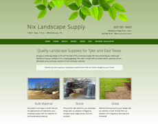 Landscape Supply Website Design