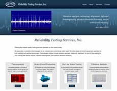 Industrial Testing Website