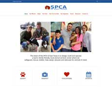 SPCA Website Design